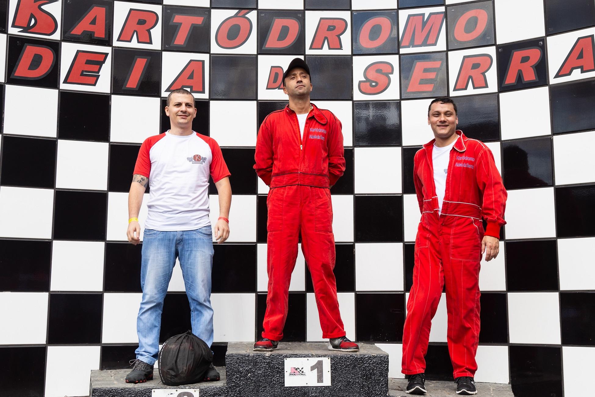 Vencedores do 2º Campeonato de Kart da Kontik Viagens