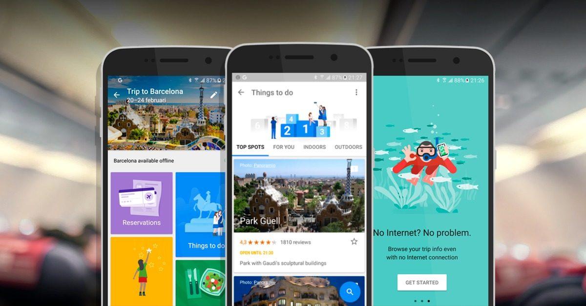 Dica de aplicativo para viagens corporativas: Google Trips