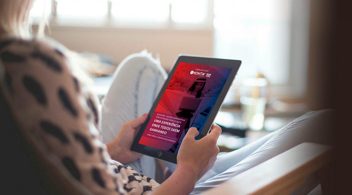 Conheça o novo e-book gratuito da Kontik sobre Bleisure