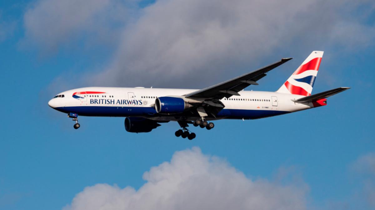 Voos da British em 27 de setembro serão cancelados